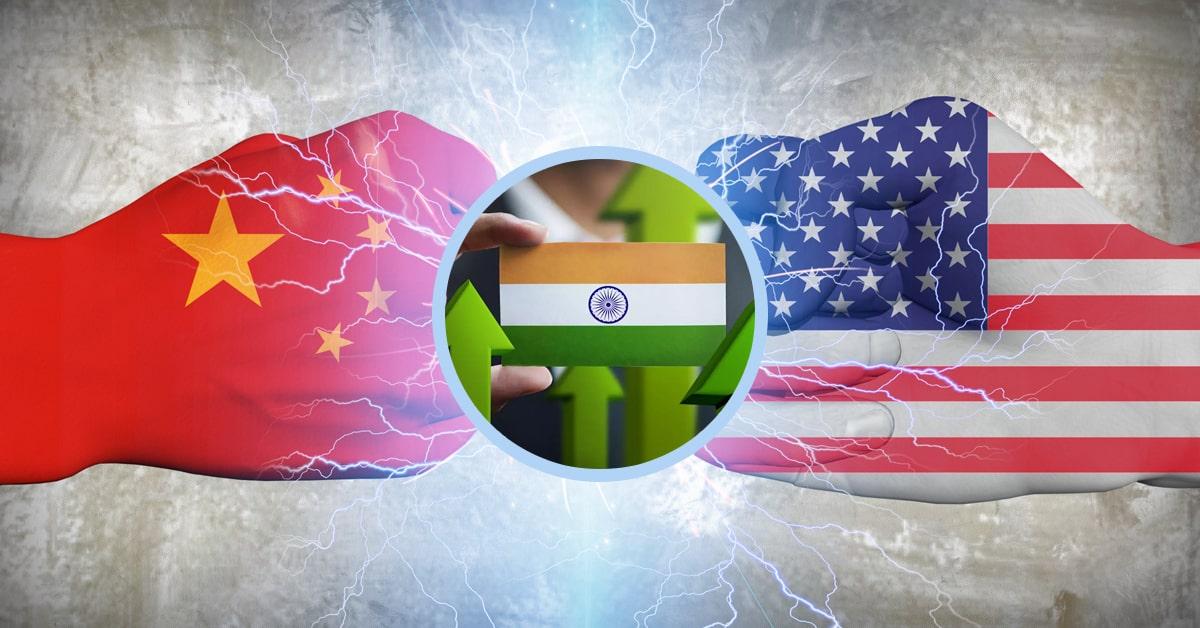 Impact of US-China trade war on Indian economy