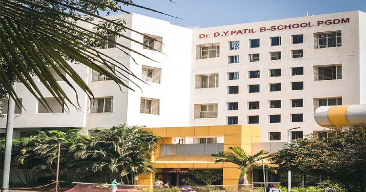 My College - Dr. D. Y. Patil B-School, Tathawade, Pune