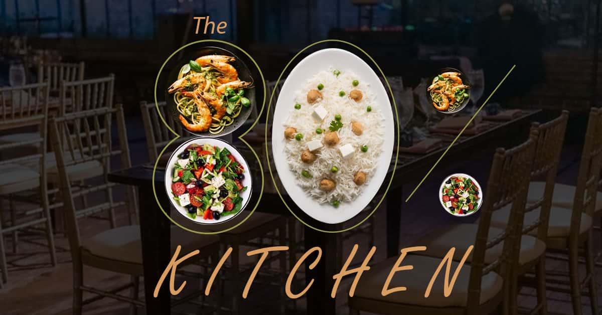 The 80 Percent Kitchen